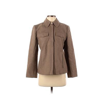 J.Crew Jacket: Tan Solid Jackets...
