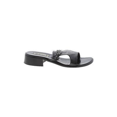 Brighton Sandals: Black Solid Sh...