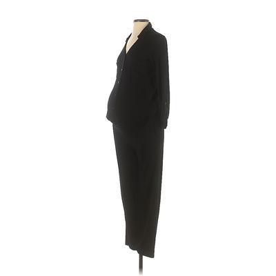 Isabella Oliver Jumpsuit: Black ...