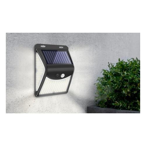 Solar-Lampe: Solar-Lampe mit 140 LEDs/ 2