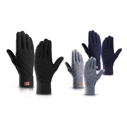 Touchscreen-Handschuhe: Navy und Grau / 2