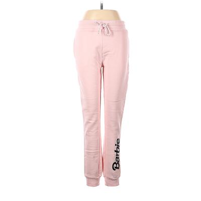 Barbie Sweatpants - High Rise: Pink Activewear - Size Small