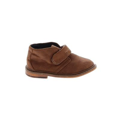 Nautica Boots: Brown Solid Shoes - Size 9