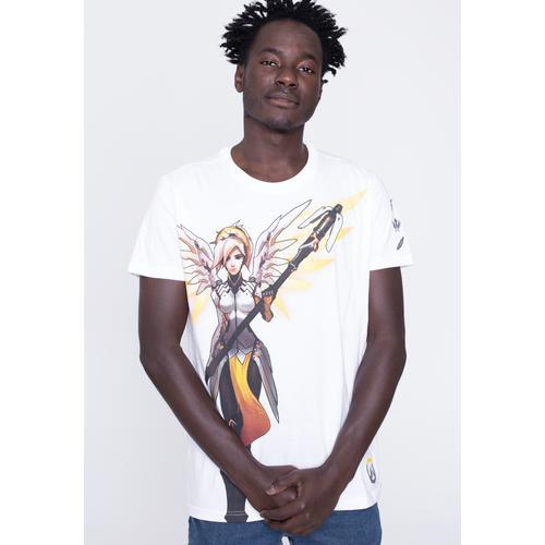 Overwatch - Mercy White - - T-Shirts