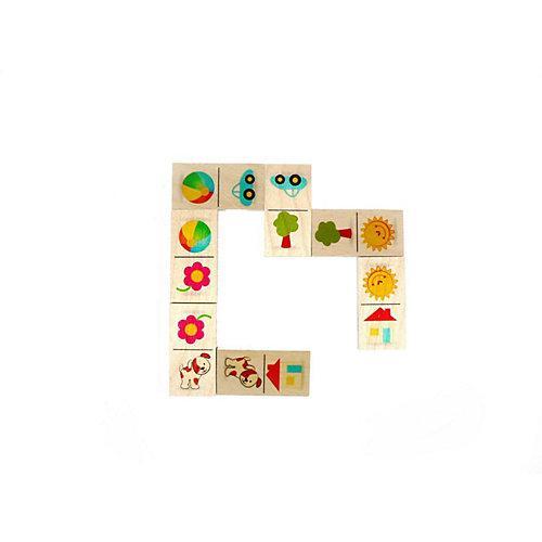 Holzspielzeug Dominospiel Sonne