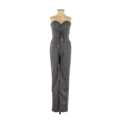 NBD Jumpsuit: Gray Jumpsuits - S...