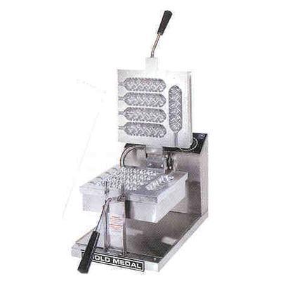 Gold Medal Waffle Dog Baker 5044 5-Slice Waffle Maker
