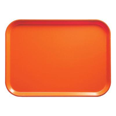 Cambro 2025220 Fiberglass Camtray? Cafeteria Tray – 25 1/2″L x 20 3/4″W, Citrus Orange