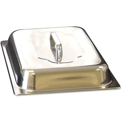 Winco 56747 Half Size Domed Steam Pan Cover, Stainless