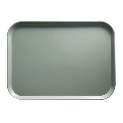 """Cambro 915107 Fiberglass Camtray? Cafeteria Tray - 15""""L x 8 3/4""""W, Pearl Gray"""