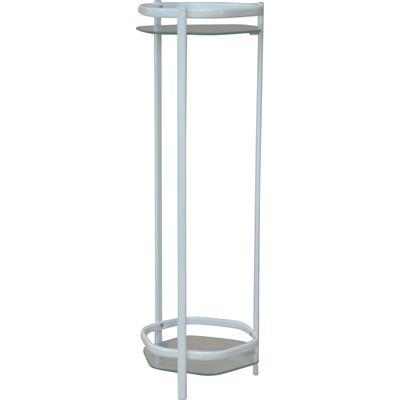 HOFMANN LIVING AND MORE Beistelltisch, mit 2 Sicherheitsglasplatten weiß Beistelltisch Beistelltische Tische