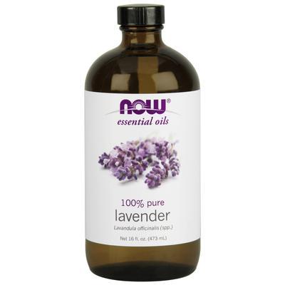 Now Foods Lavender Oil 16 fl oz (473 ml)