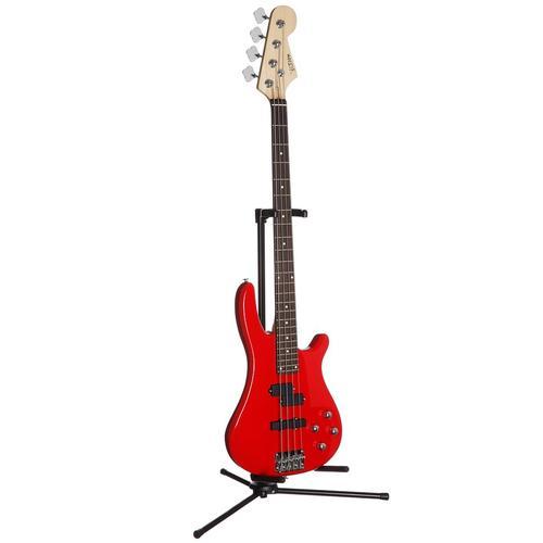 E-Bass JB rot Gitarre Musikinstrumente