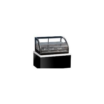 Vollrath 40842 Refrigerated Display Cabinet, 36 in, Curved Glass, 2 Shelves, 110V