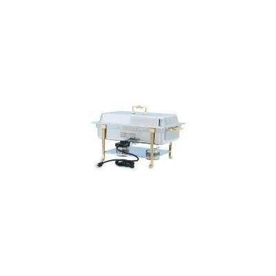Vollrath 46040 Classic Design Full Size Chafer, Electric, Oblong, 9 qt, Long End Plug