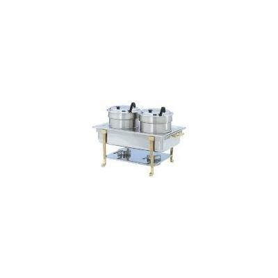Vollrath 99880 Accessory Kit, Double Soup Buffet, Stainless, Full Chafer, 2 Insets w Ladles