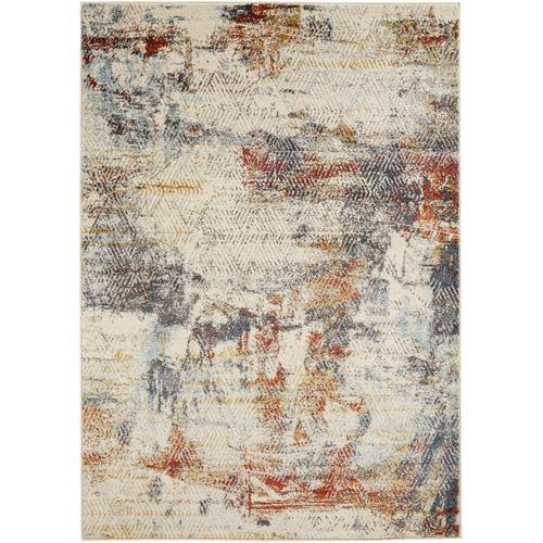 Teppich mit Struktur in Pastellfarben