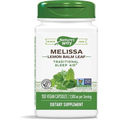 Nature's Way Herbals/Herbal Extracts - Melissa-Lemon Balm - 100 Vegan