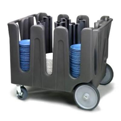 """Winco ADC-2 Dual Service Pastry Display Case - 21""""L x 18""""W x 12""""H, Acrylic, Clear"""