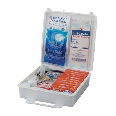Service Ideas 1124SI First Aid Kit w/ 173 Pieces