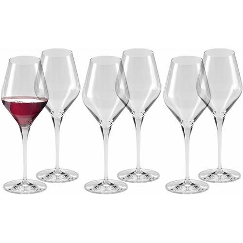 Alexander Herrmann Rotweinglas CLASSIC Linie, (Set, 6 tlg.) farblos Kristallgläser Gläser Glaswaren Haushaltswaren