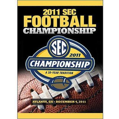 2011 SEC Football Championship DVD