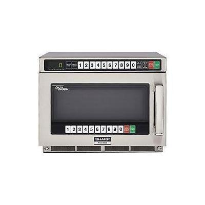 Sharp Heavy Duty Twin Touch Commercial Microwave - 1200 Watt