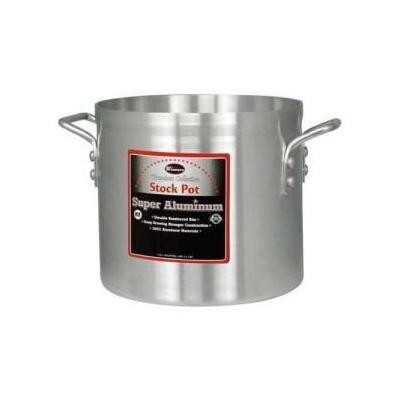 Winco AXS-12 Stock Pot, 12 Quart (4.0Mm / 3003), Aluminum