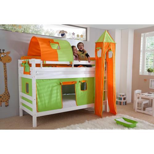 Relita Etagenbett, Set 4-tlg. bunt Kinder Etagenbett Kinderbetten Kindermöbel