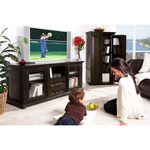 Mexico Kolonial - Lowboard, TV-Tisch, Kolonialstil, montiert