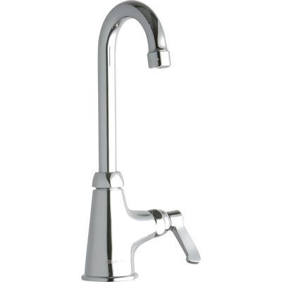 """Elkay LK535GN04L2 Deck Mount Pantry Faucet w/ 4"""" Gooseneck Swing Spout & 2"""" Lever Handles"""
