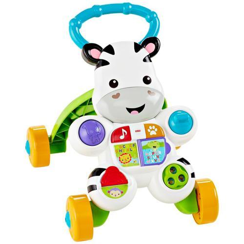 Fisher-Price Lauflernhilfe Lern mit mir Zebra Lauflernwagen bunt Kinder Lauflernhilfen Baby Kleinkind