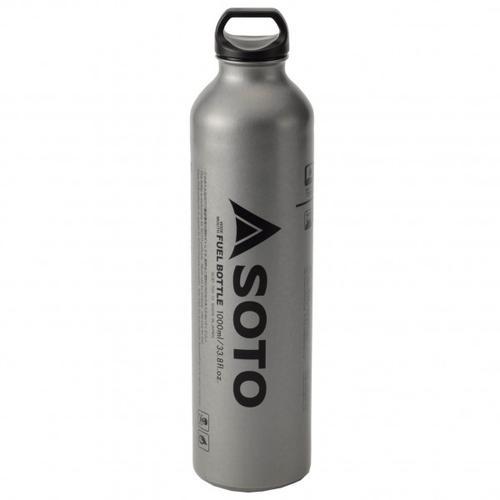 Soto - Benzinflasche für Muka - Brennstoffflasche Gr 1000 ml grau