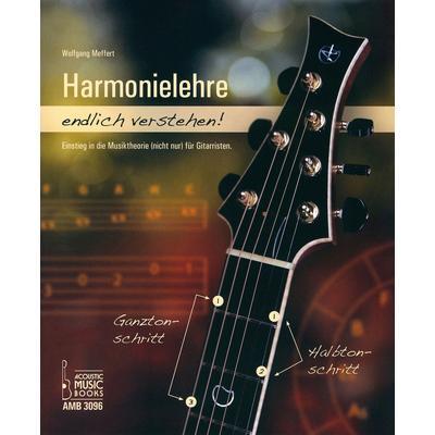 Acoustic Music Books Harmonielehre verstehen 1