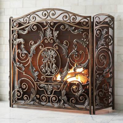 Avignon Fireplace Screen - Front...