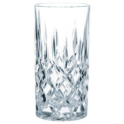 Nachtmann Longdrinkglas Noblesse, (Set, 4 tlg.), mit edlem Schliff farblos Kristallgläser Gläser Glaswaren Haushaltswaren