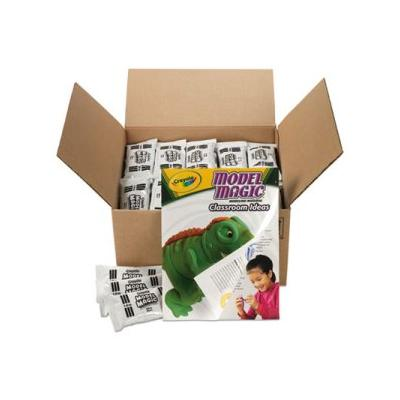 """Crayola Model Magic Modeling Compound, White, 75 Packets (Cyo236001)"""