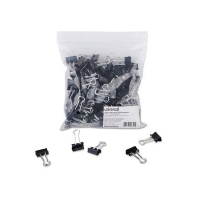 """""""Small Steel Wire Binder Clips, 3/8 Capacity, 3/4 Wide, 144 Clips (Unv10200Vp)"""""""