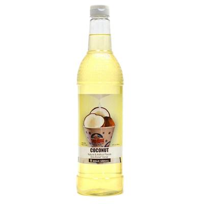 Gold Medal 1430 25 oz Coconut Snow Cone Syrup, Ready-To-Use