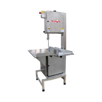 "Skyfood SI-315HDE-1 Floor Model Meat & Bone Saw w/ 124"" Blade - Stainless Steel, 230/1v"