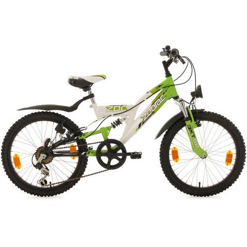 KS Cycling Jugendfahrrad Zodiac, 6 Gang, Shimano, Tourney Schaltwerk, Kettenschaltung weiß Kinder Kinderfahrräder Fahrräder Zubehör