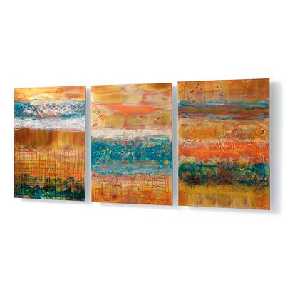 Blue Skies Copper Panels - Light Blue - Frontgate
