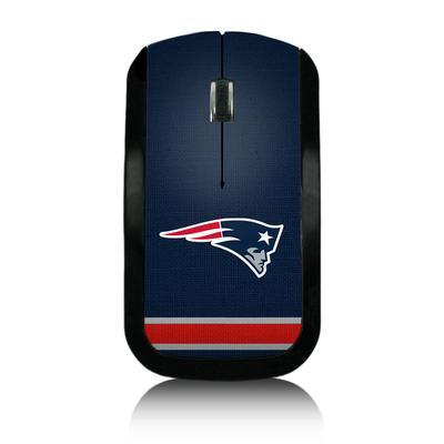 New England Patriots Stripe Wireless Mouse