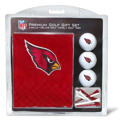 Arizona Cardinals Embroidered Golf Gift Set