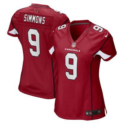 Women's Arizona Cardinals Isaiah Simmons Nike Cardinal Game Player Jersey