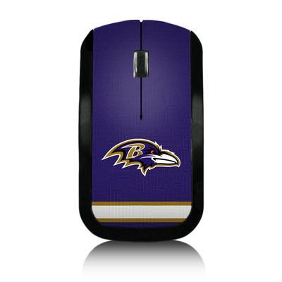 Baltimore Ravens Stripe Wireless Mouse