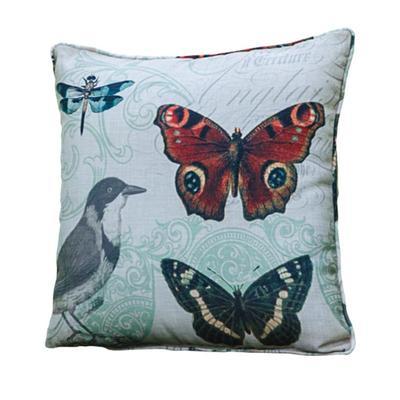 Songbird Song of Swallow Pillow