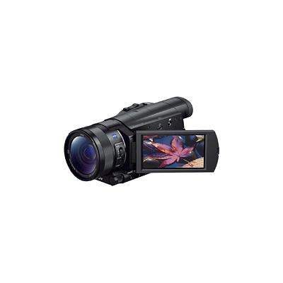 Sony Prosumer FDR-AX100 4K HD Flash Memory Camcorder - Black - FDRAX100/B