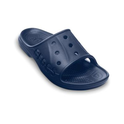 Crocs Navy Baya Slide Shoes