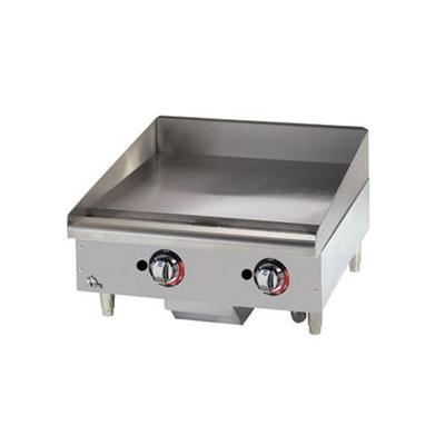 Star 15 Griddle 1 Steel Plate, Thermostat Controls, LP